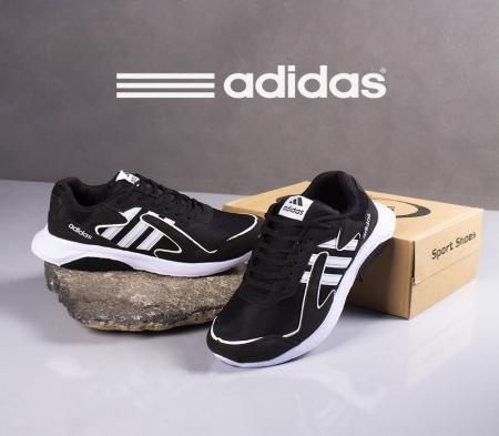 کفش مردانه adidas مدل Lazio(مشکی سفید)